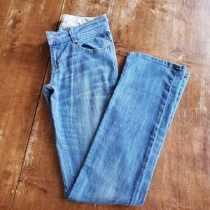 Tag + Jean's size 28  straight leg